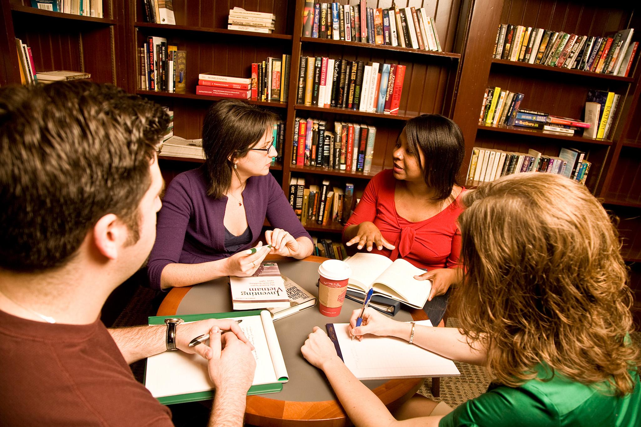 德鲁大学小组和个人课业辅导