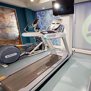 Magenta House gym