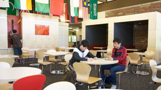 Diverse classroom setting at Colorado State University