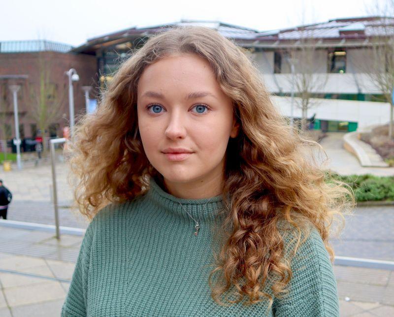 INTO Exeter student Vladislava