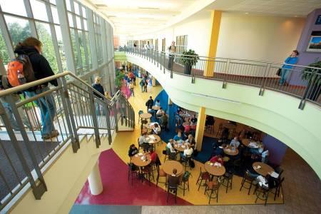 圣路易斯大学布施学生中心天井