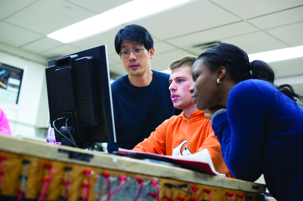 Pre-engineering students get support from Drew staff