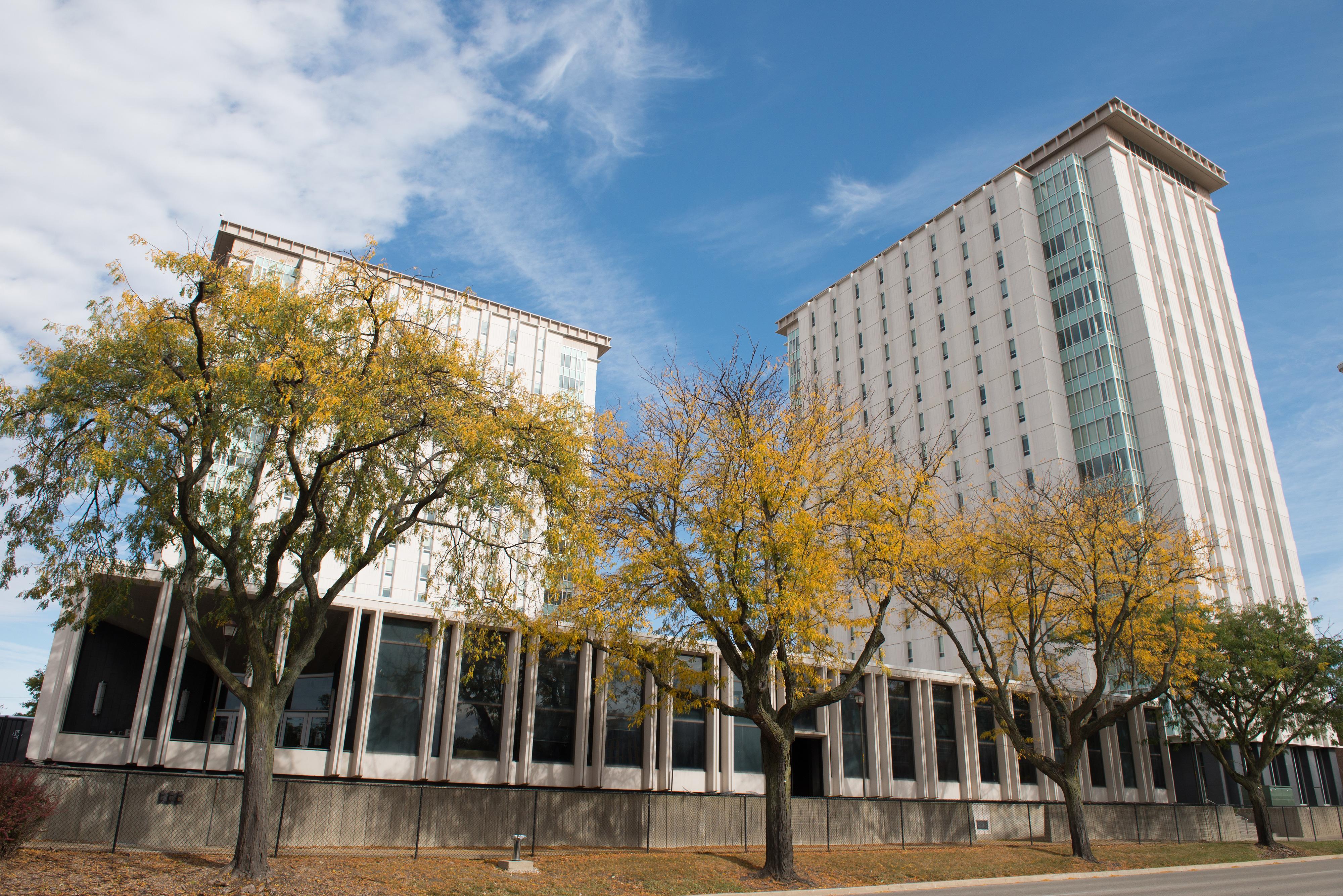 ISU Building outside daytime