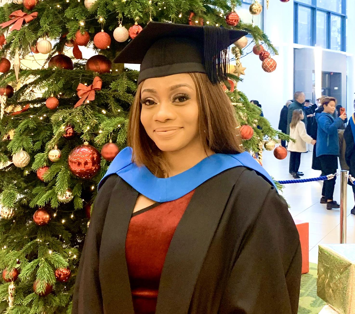 INTO UEA student Elizabeth, from Nigeria