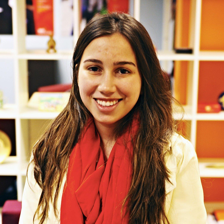 Photo of international student Debora at INTO Manchester