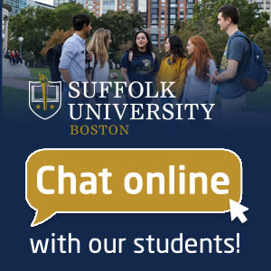 Chat with Suffolk University students