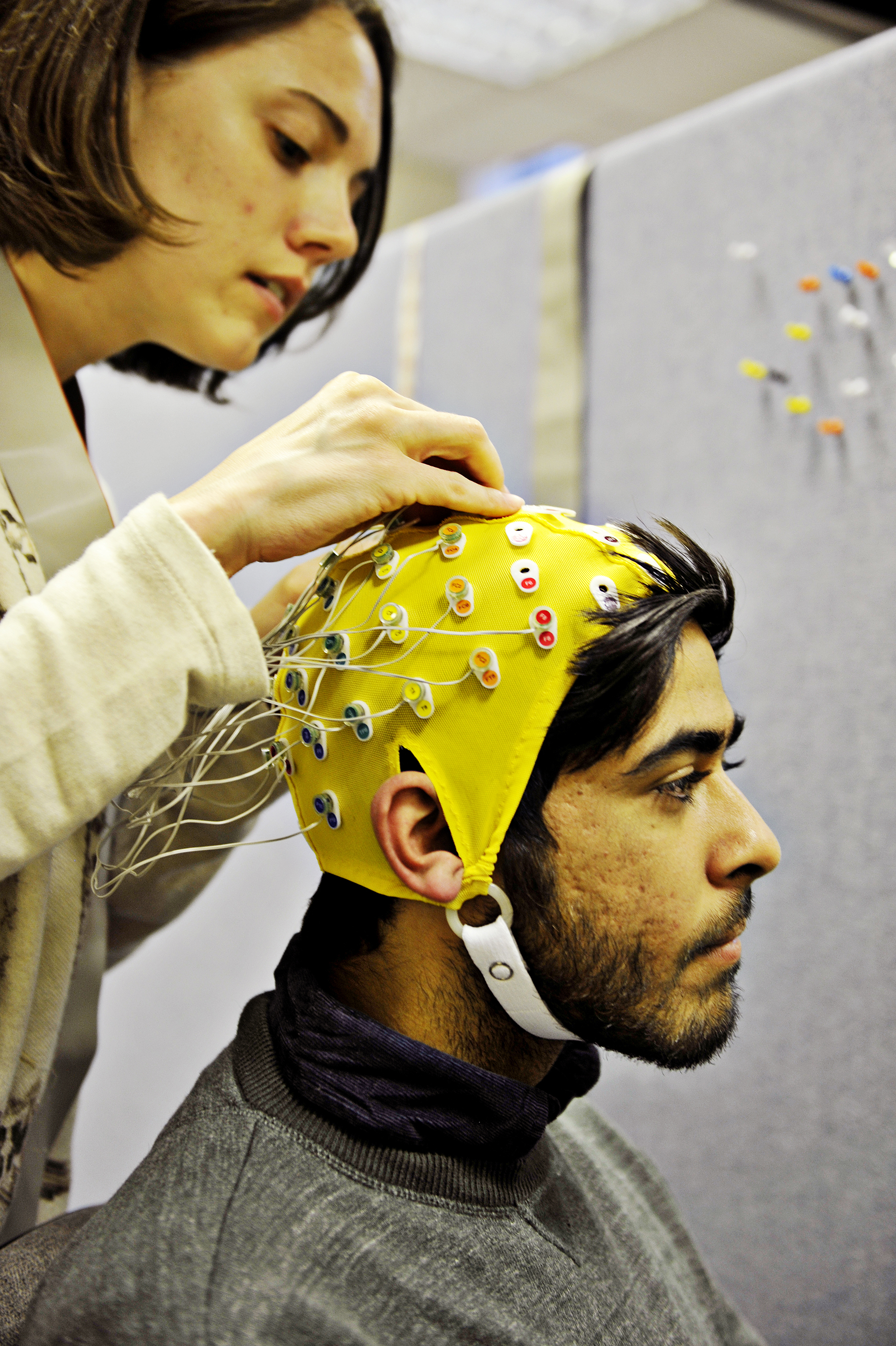INTO students using brainwave-monitoring technology
