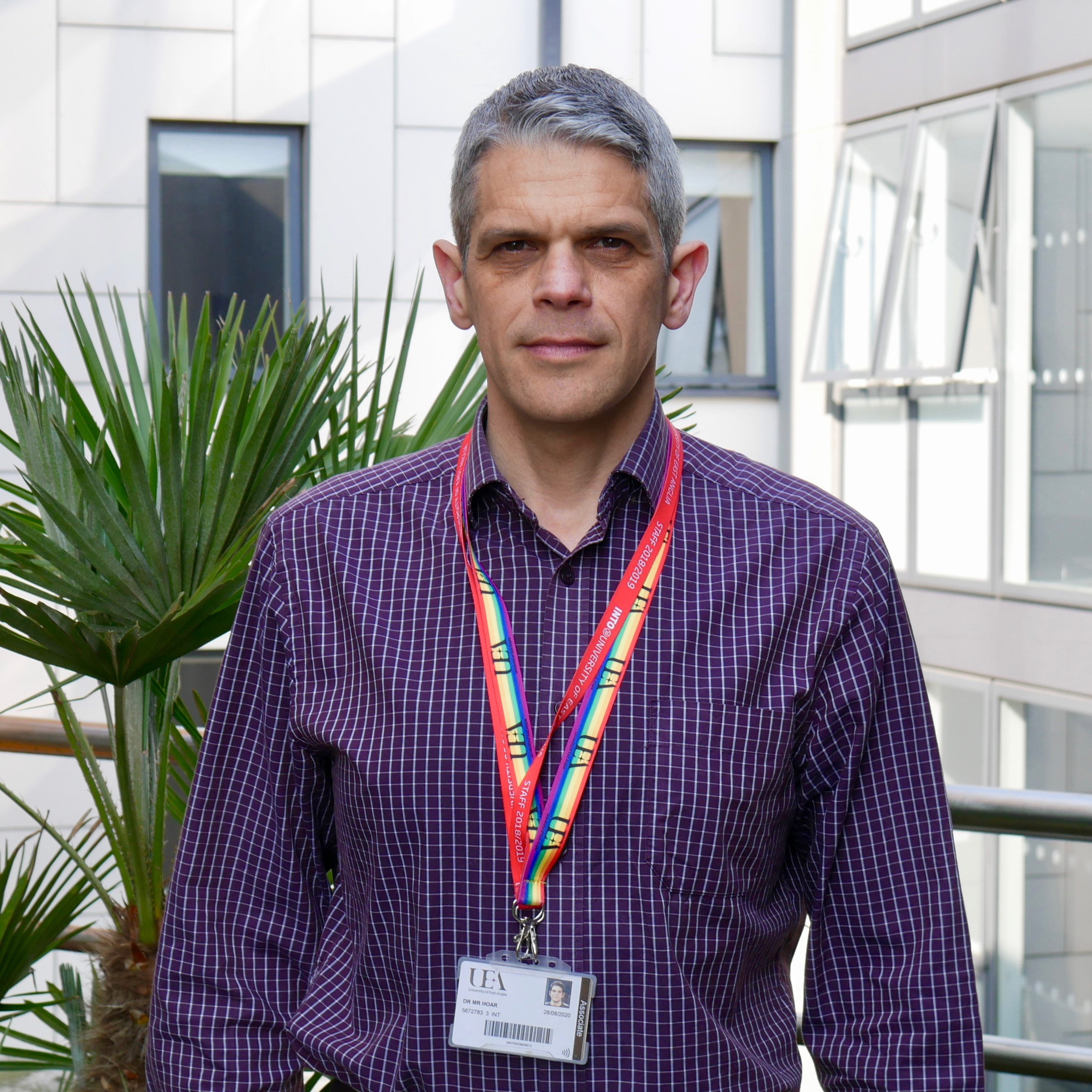 Image of INTO UEA teacher, Mark
