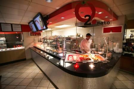 الطعام في جامعة هوفسترا