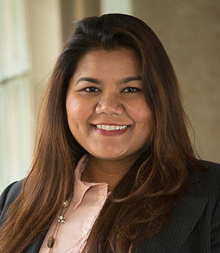 Divya Dubramaniam, PhD, Director of Academic Programs and Assistant Professor, at SLU