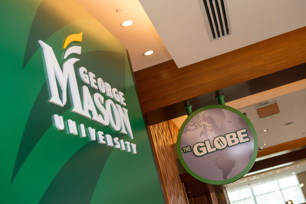 The Mason Global Center is home to an international dining hall, The Globe