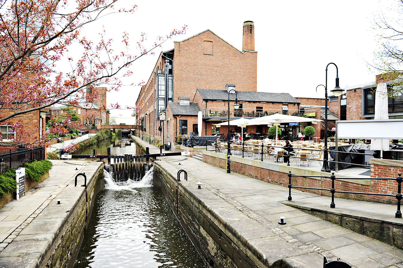 Deansgate Locks in Manchester