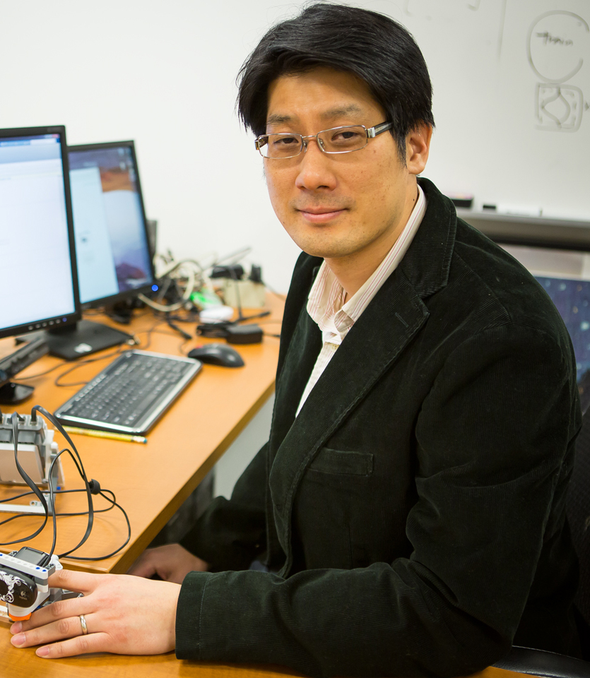 Dr. Minjoon Kouh, Chair and Associate Professor of Physics, at Drew