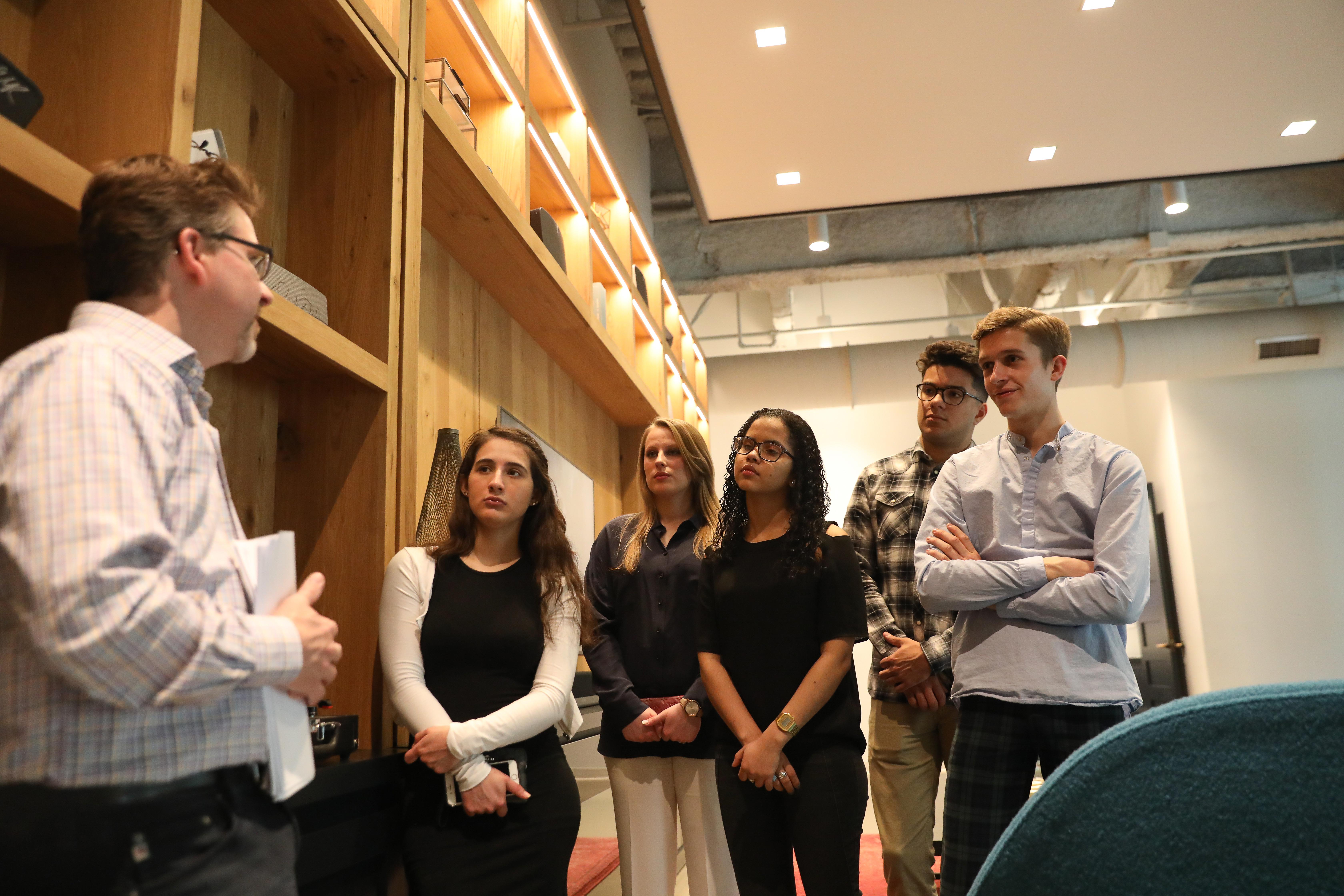 Suffolk Students sonos visit