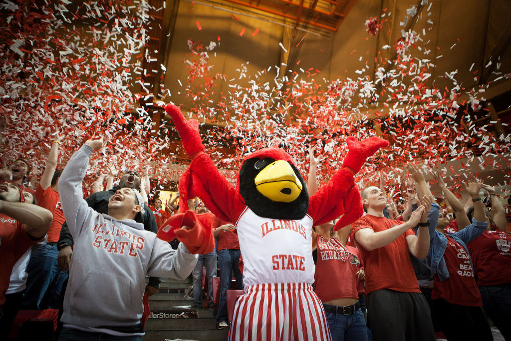 Redbird athletics bring out the fans