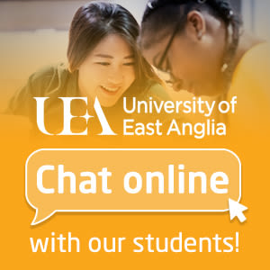 University of East Anglia. Chat online with our students!