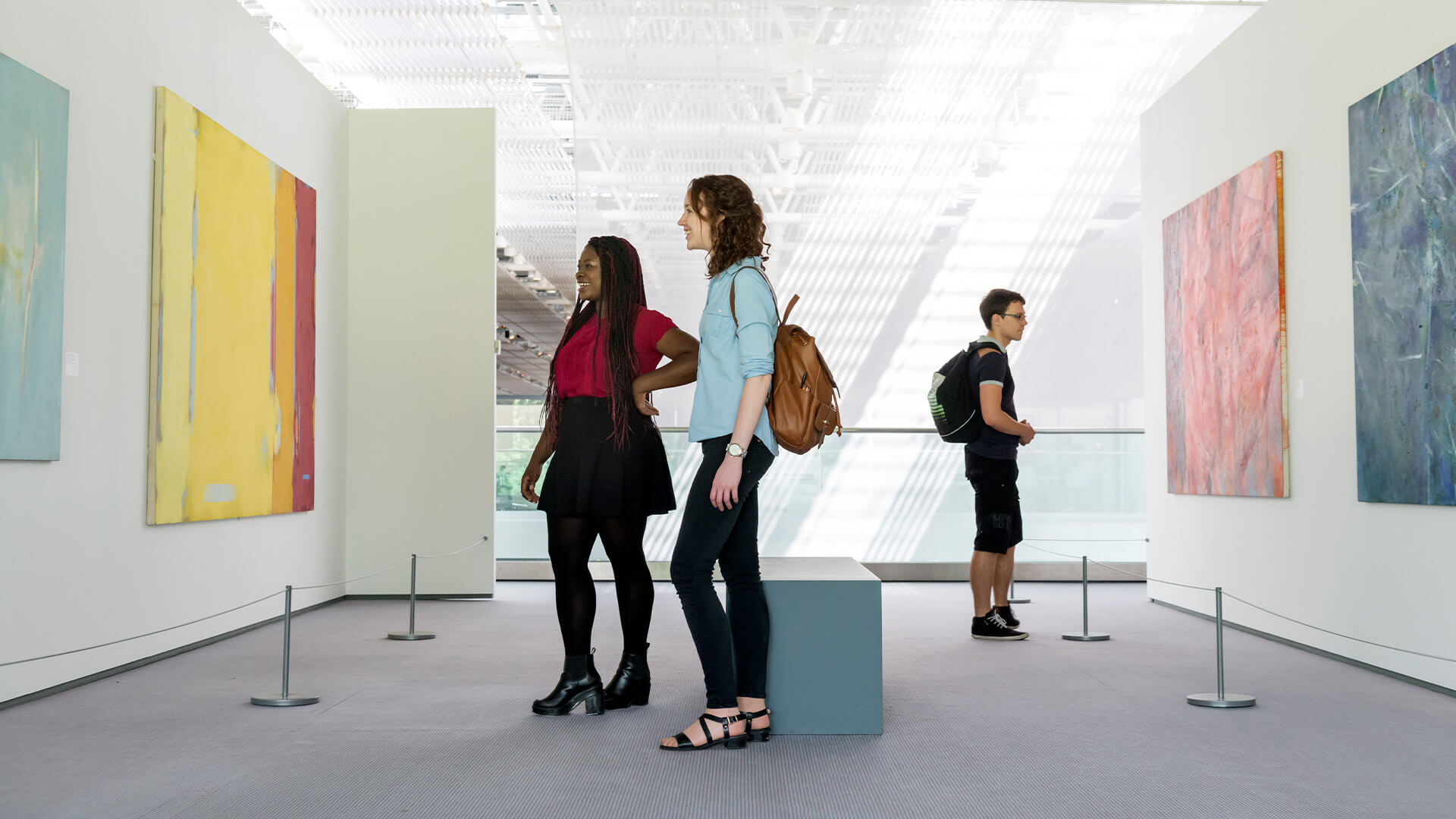 The Sainsbury Centre for Visual Arts is an art gallery on the campus of the University of East Anglia
