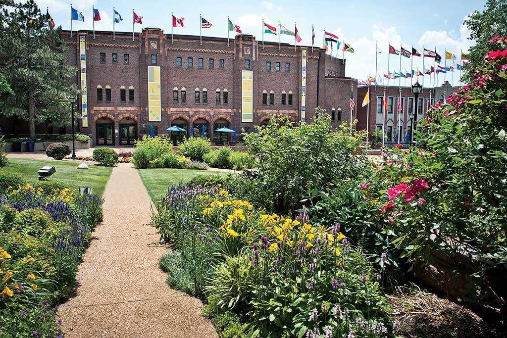 SLU Campus Garden
