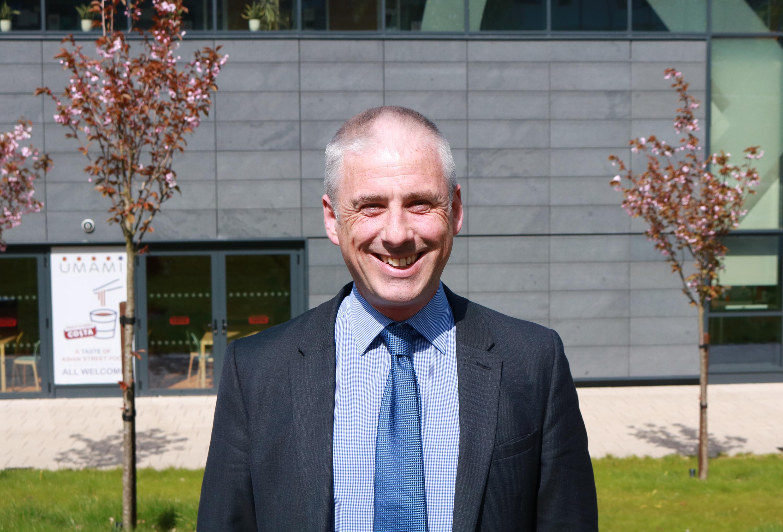 Image of INTO Stirling teacher, Adam