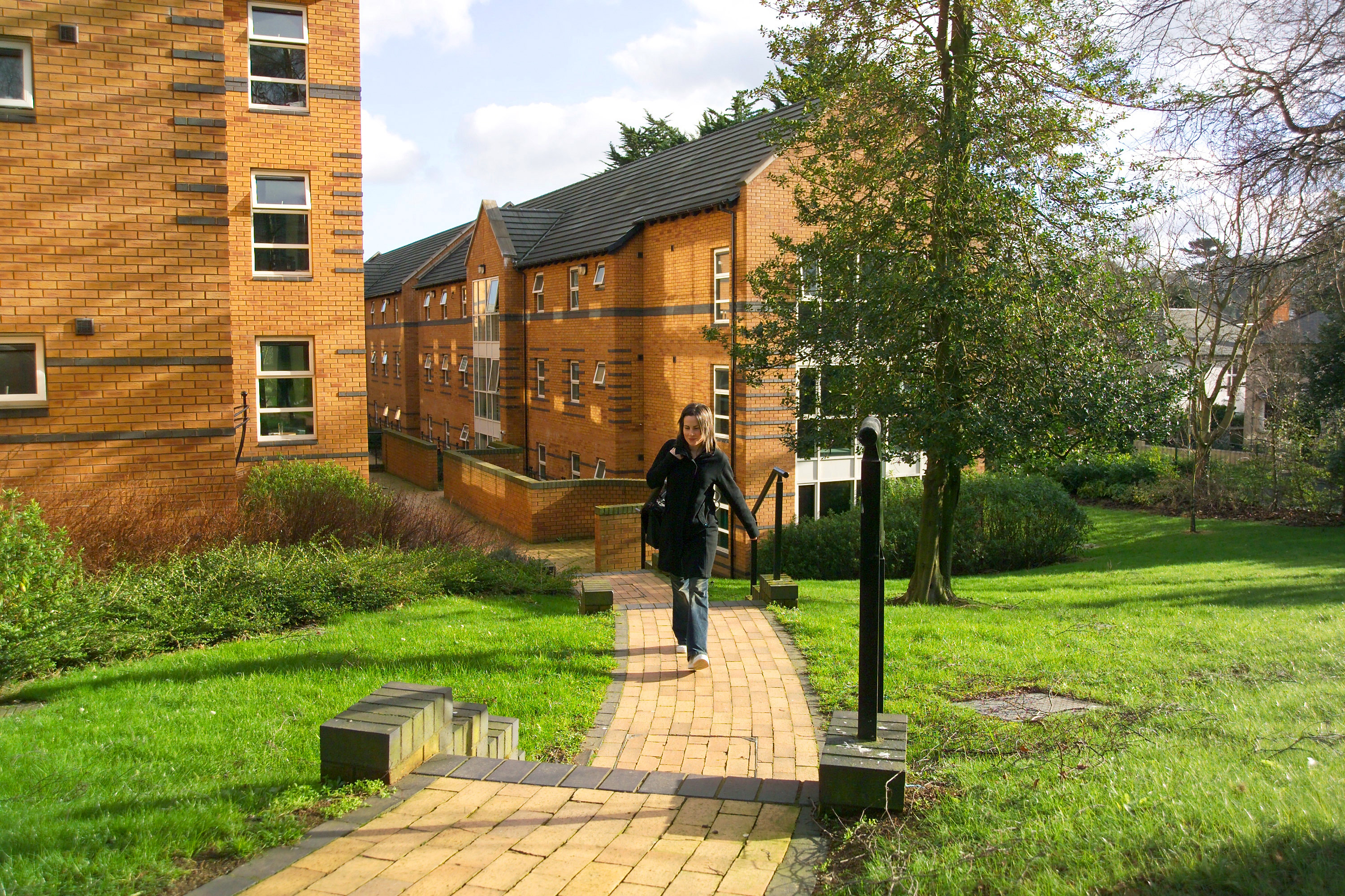 Elms Village student residences at Queen's University Belfast